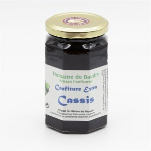Confiture extra Cassis 370g