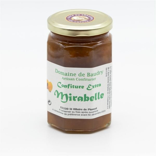 Confiture extra Mirabelle 370g