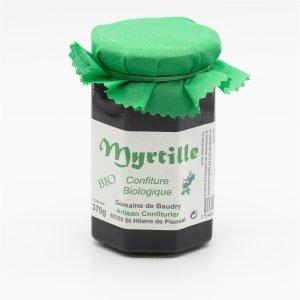 Confiture extra Myrtille Bio 370g