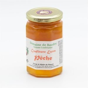 Confiture extra Pêche 370g