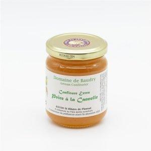 Confiture extra Poire Cannelle 250g