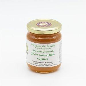 Spécialité Gourmande Poire saveur Pain d'Epices 250g