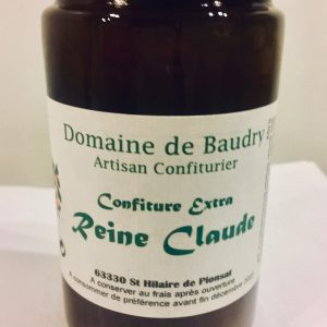 Confiture Extra Reine Claude 370g